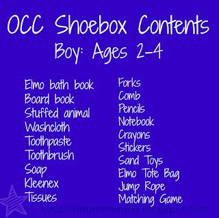 operation christmas child, OCC, samaritan's purse, boy box for OCC, operation christmas child shoebox, ideas for OCC, OCC shoebox