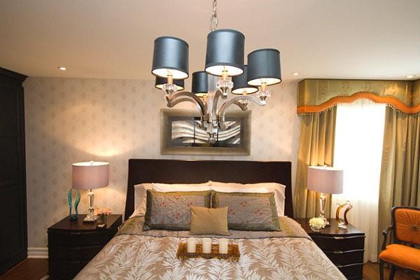 Những lưu ý khi treo đèn chùm phòng ngủ hợp phong thủy