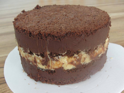 Receita do Bolo de Chocolate Trufado