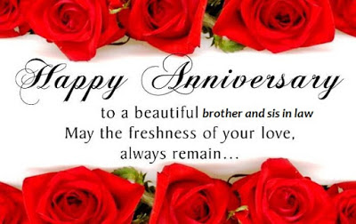 anniversary wishes for big brother and bhabhi in Hindi