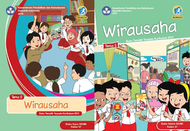 File Pendidikan Materi Pelajaran Kelas 6 Tema 5 SD/MI Kurikulum 2013 Edisi Revisi 2018 Terbaru