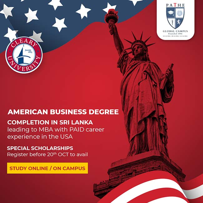 PATHE Global Campus - American Business Degree | Completion in Sri Lanka.