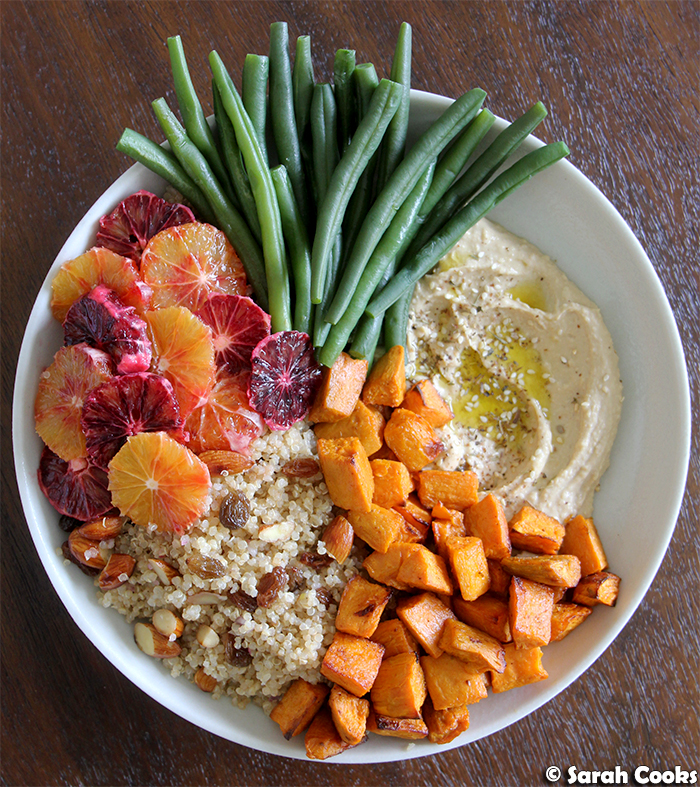 Blood Orange, Sweet Potato and Quinoa Salad