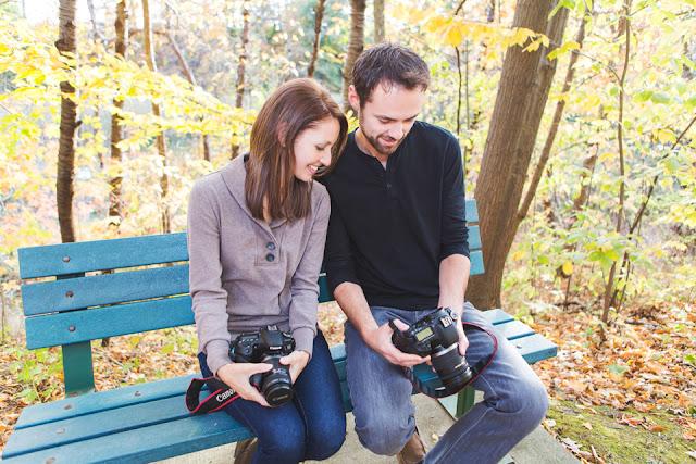 Ashley and Trevor are bird photographers
