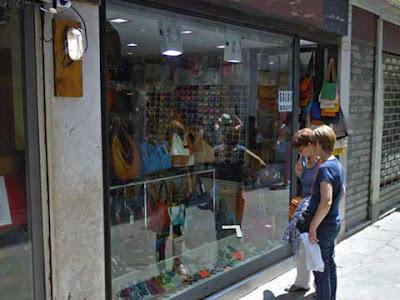 Ex negozio di fumetti e miniature in Salizada del Fontego dei Tedeschi