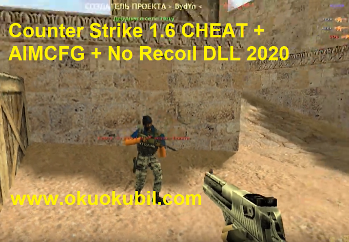 Counter Strike 1.6 CHEAT + AIMCFG + No Recoıl DLL 2020