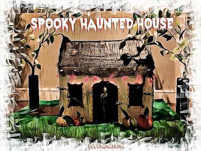 Spooky Halloween House @Bionicbasil® Crafting with Cats