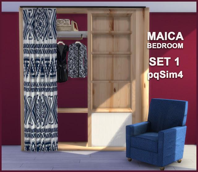 Armario y sillón Maica 12