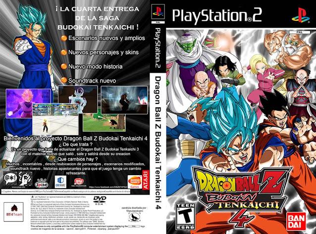 Dragon Ball Z Budokai Tenkaichi 4 Beta 6 es un mod de Dragon Ball Z Budokai Tenkaichi 3 desarrollado por fans para fans los cuales integran las actualizaciones de la nueva seria Dragon Ball Super. Se integran los personas nuevos al igual que plantillas y zonas de batalla.