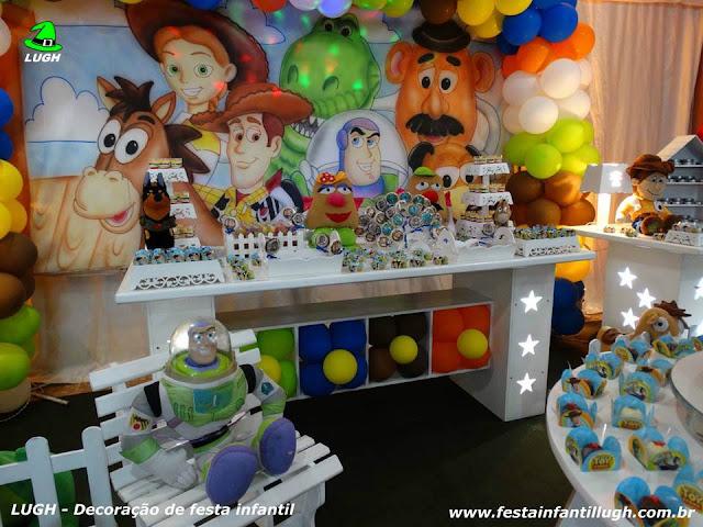 Tema infantil Toy Story - decoração provençal infantil