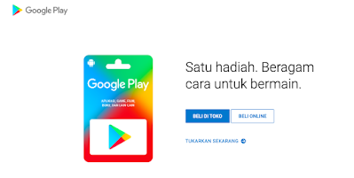 kode voucher google play