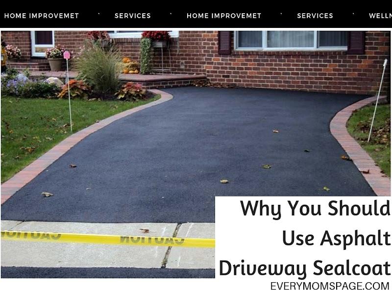 Why You Should Use Asphalt Driveway Sealcoat