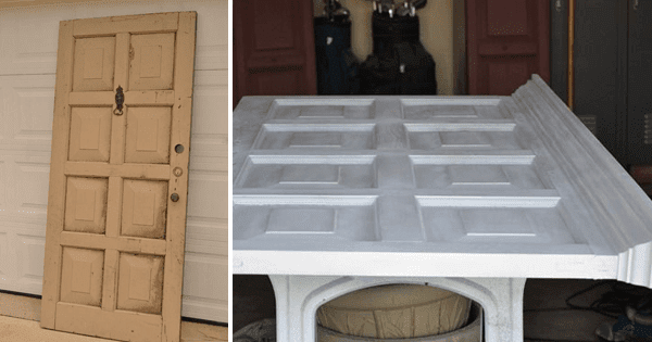How to Repurpose an Old Door into a Bed Frame