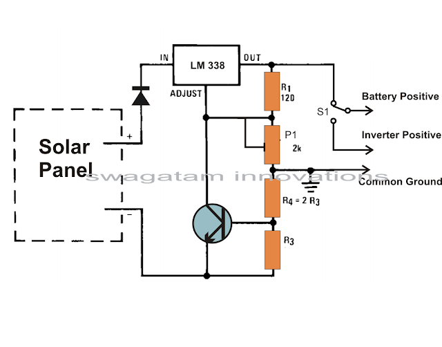How to Build a Solar Panel Voltage Regulator Charger