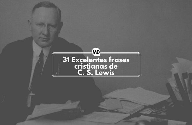 Frases cristianas de C.S. Lewis