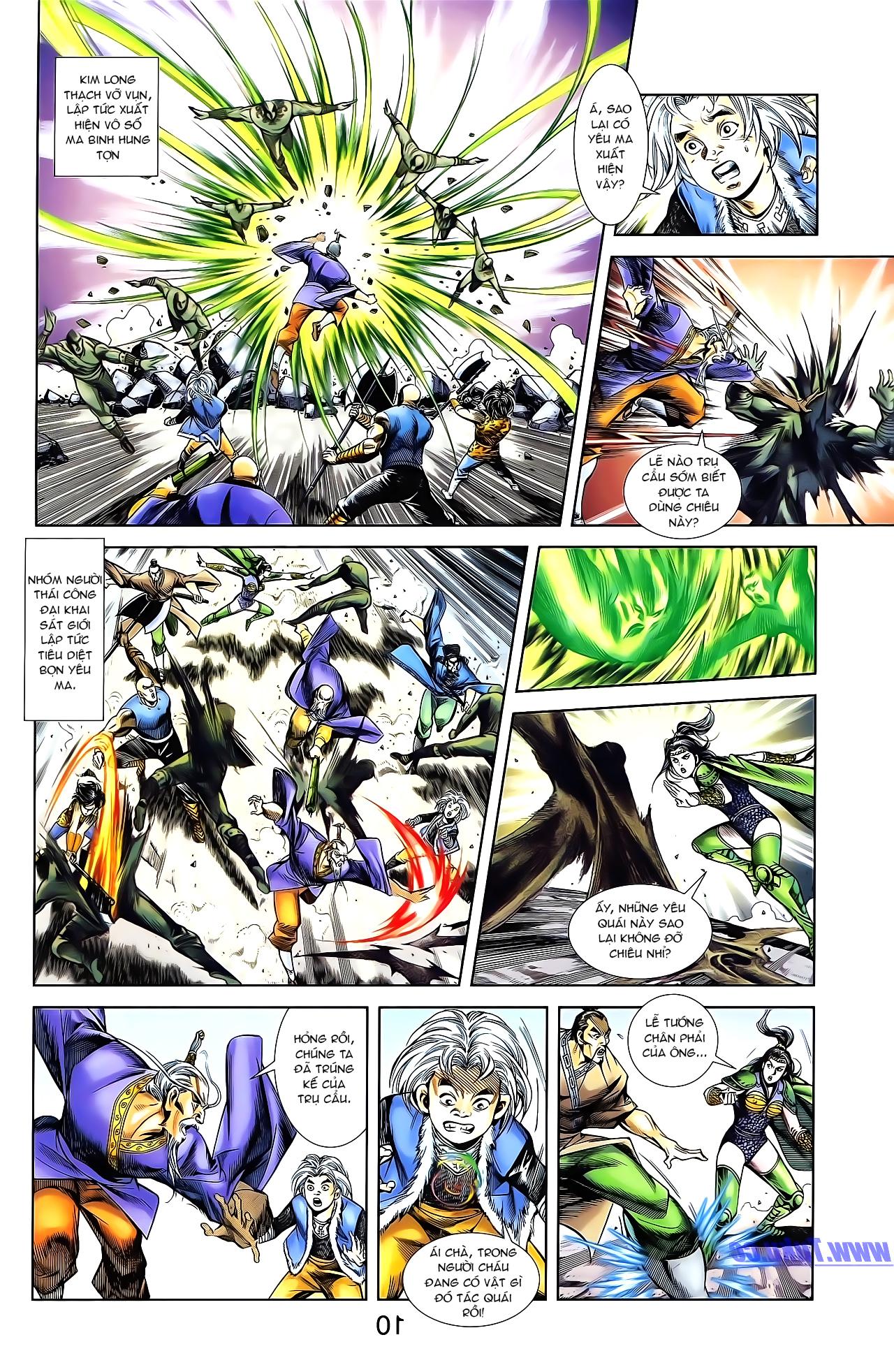 Cơ Phát Khai Chu Bản chapter 161 trang 20