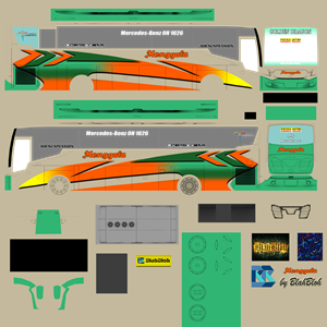 livery scorpion x bsw menggala