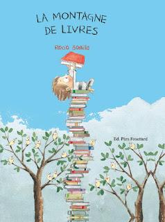 La montagne de livres de Rocio Bonilla