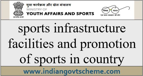 sports+infrastructure+facilities+and+promotion