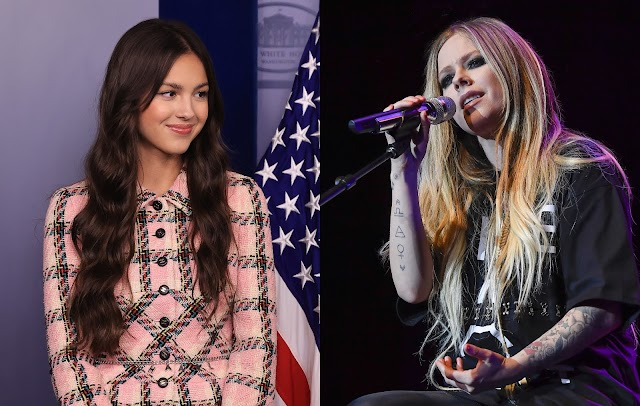 Avril Lavigne elogia a Olivia Rodrigo
