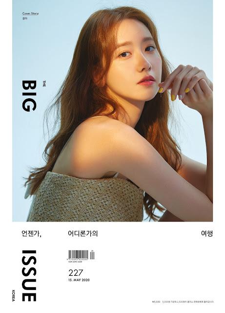 SNSD YoonA Big Issue Magazine Donation