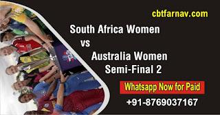 South Africa Women vs Australia Women ICC Women's T20 WC Semi Final 2
