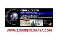 Lowongan Kerja Juni 2020 di PT. Central Capital Surakarta