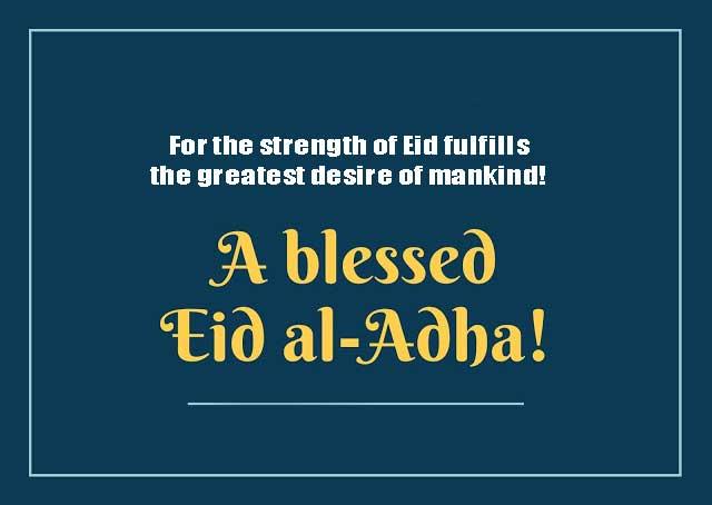 Eid Ul Adha Greetings Cards