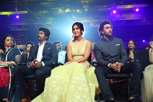 Ranbir Kapoor & Katrina Kaif at SIIMA 2017 Day 2
