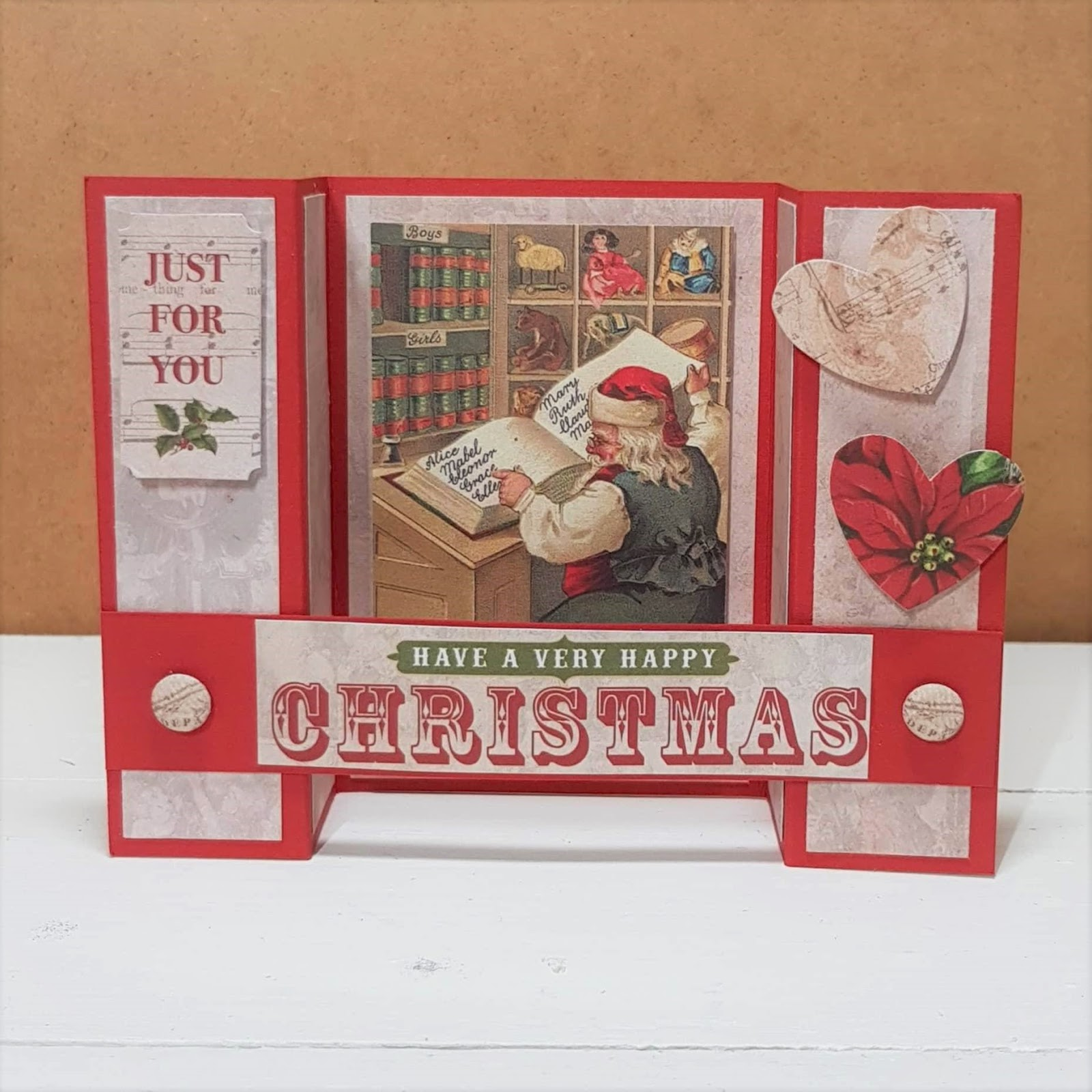 Christmas Past - Batch Making Christmas Cards | Jennifer Kray ...