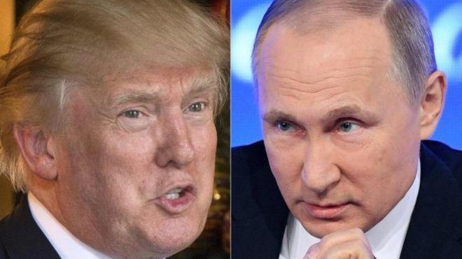 United States President Trump and Putin 'seek Syria ceasefire'