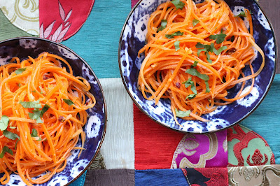 salade de carotte de chine