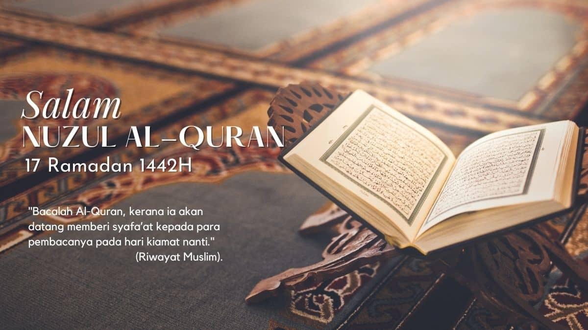 Salam Nuzul al-Quran  1442H/2021M
