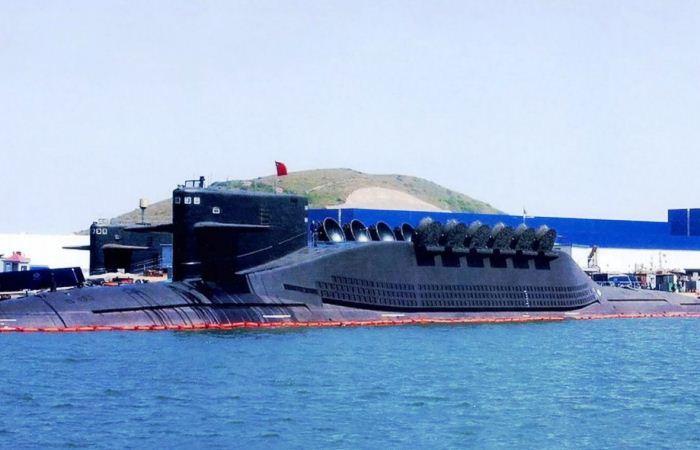 Kapal selam Tipe 094 China