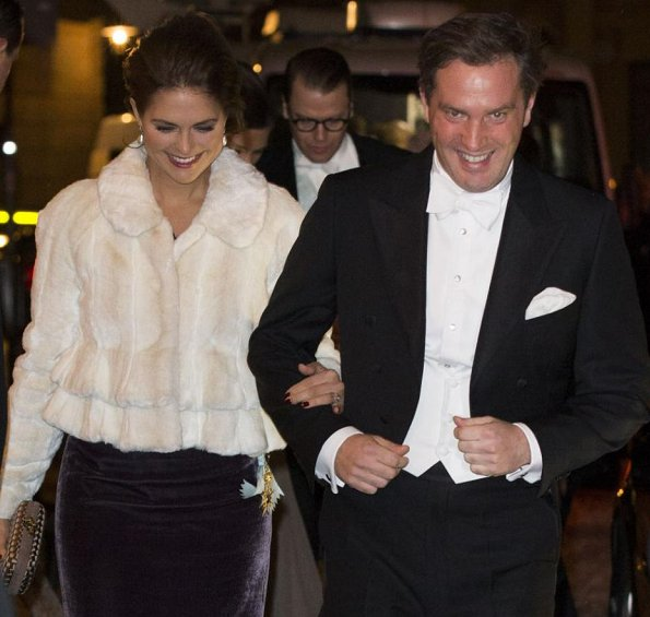 Queen Silvia, Crown Princess Victoria, Prince Daniel, Prince Carl Philip, Princess Madeleine and Mr Christopher O'Neill