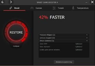 أداة, رائعة, لتحسين, سرعة, الالعاب, وتشغيلها, على, أجهزة, الكمبيوتر, الضعيفة, Smart ,Game ,Booster