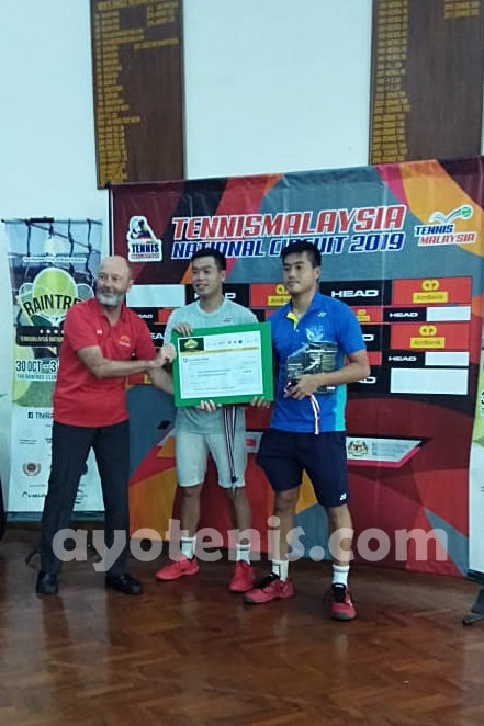 David/Antony Runner-up Raintree National Tennis Circuit Malaysia Leg 5