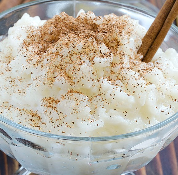 Cinnamon Rice Pudding #desserts #healthy