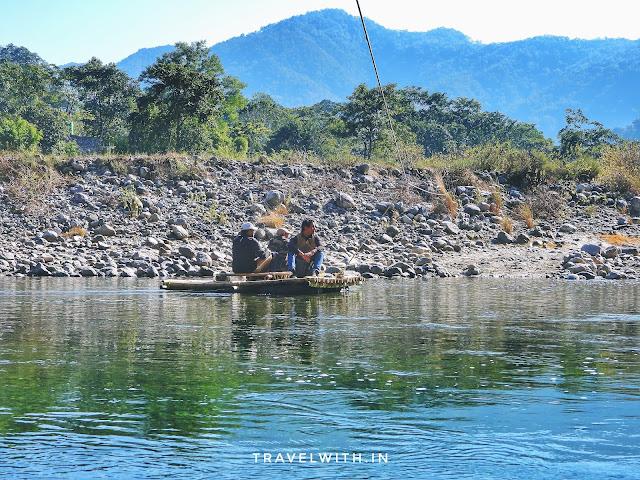 Crossing the Ramganga River