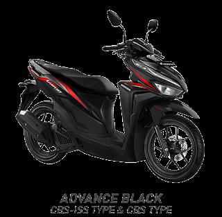Vario 125 ESP CBS ISS - Vigor Black - Honda Sejahtera Mulia Cirebon