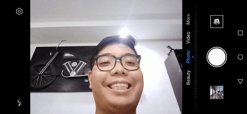 Huawei Y6s selfie camera app