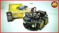 Elegoo Uno Smart Robot Car 3.0 Plus ⋆ per imparare, giocare e divertirsi con Arduino e sensori