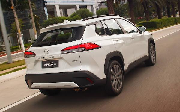 Toyota Corolla Cross 2022 (Brasil): fotos, preços e detalhes