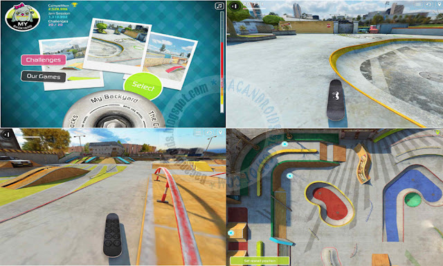 Touchgrind Skate 2 Apk Data Full update + Mod Unlocked