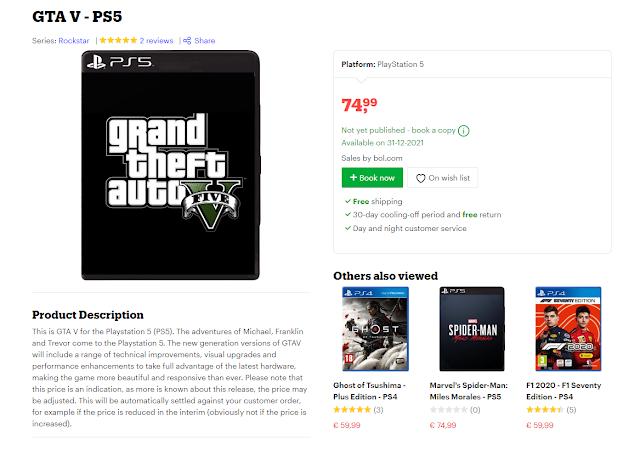 يبدو أن لعبة GTA 5 ستحصل على تغييرات أساسية في نسخة جهاز PS5 و Xbox Series X