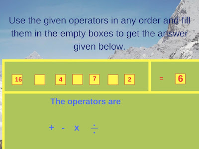 Math Operator Equation Brain Teaser-1