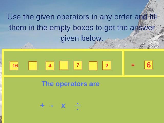 Math Operator Equation Brain Teaser-1