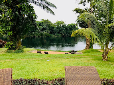My Top Ten Ghana Scenes: River view from Royal Senchi Hotel, Volta Region (Photo: Kwei Quartey)