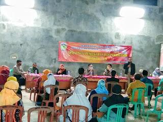 Danramil 07/Bangsri Didampingi Babinsa Desa Dermolo Menghadiri Sosialisasi Pencegahan Dan Penanganan Covid-19.
