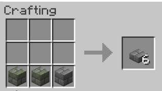 Stone Brick Slab Recipe